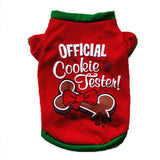 Official Cookie Tester Print Pet Clothing Cat Clothing Pet Clever