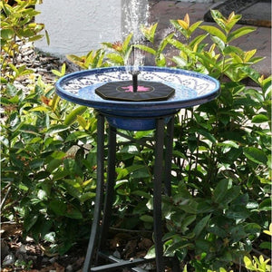 Outdoor Decor Solar Power Water Floating Fountain Pump Fountain Pump Pet Clever