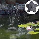 Outdoor Solar Water Fountain Pool Fountain Pump Pet Clever