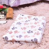 Paw Print Pet Blanket Dog Beds & Blankets Pet Clever