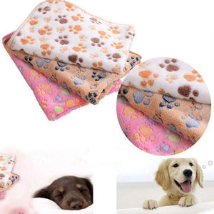 Paw Style Printed Blanket Dog Beds & Blankets Pet Clever