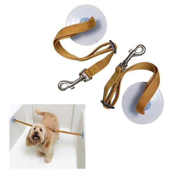 Pet Bathing Tethers with 2 Straps Dog Care & Grooming Pet Clever