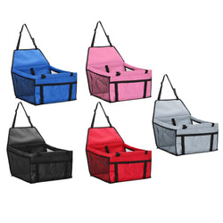 Pet Carrier Car Seat Folding Safe Travel Bag