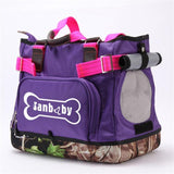 Pet Carrier Portable Shoulder Bag Dog Carrier & Travel Pet Clever purple