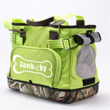 Pet Carrier Portable Shoulder Bag Dog Carrier & Travel Pet Clever green