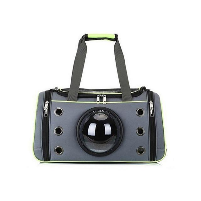 Pet Clever Comfortable Space Capsule Pet Handbag Dog Carrier & Travel Pet Clever Green Capsule S