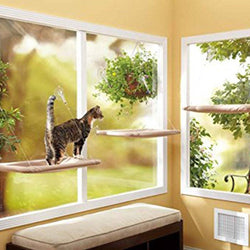 Pet Clever Window Mounted Bed