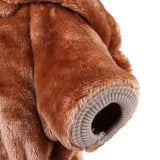 Pet Funny Bear Hooded Coat Cat Clothing Pet Clever
