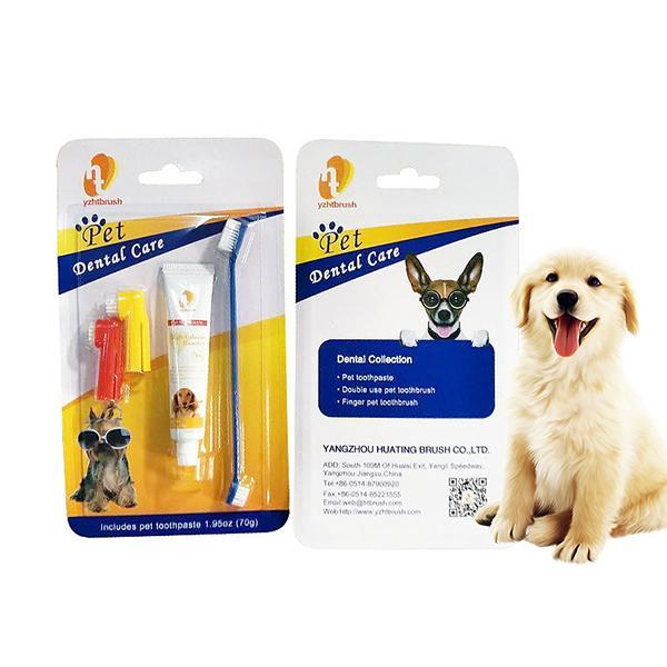 Pet Oral Care Toothbrush Set Toothbrush Pet Clever