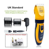 Professional Pet Hair Rechargeable Trimmer Haircut Pet Clever UK