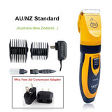 Professional Pet Hair Rechargeable Trimmer Haircut Pet Clever AU