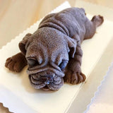 Pug Shape Baking Mold Home Decor Dogs Pet Clever