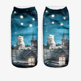 Purrfect Cat Ankle Socks Cat Design Accessories Pet Clever 22