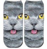 Purrfect Cat Ankle Socks Cat Design Accessories Pet Clever 24
