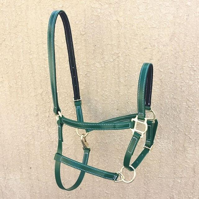 PVC Horse Riding Halter Horse Halter Pet Clever Green
