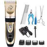 Rechargeable Professional Dog Haircut Shave Trimmer Dog Care & Grooming Pet Clever