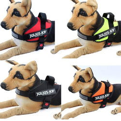 Reflective Dog Soft Adjustable Harness
