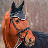 Reflective Horse Breathable Meshed Horse Ear Cover Horse Mask Pet Clever