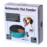 Smart Automatic Pet Meal Feeder Food Dispenser Reminder Bowl Cat Bowls & Fountains Pet Clever