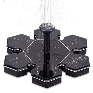 Solar Fountain Pump With Battery Backup Fountain Pump Pet Clever