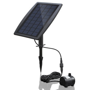 Solar Power Panel Landscape Fountain Water Pump Fountain Pump Pet Clever