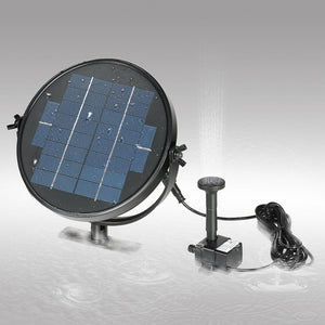 Solar Power Water Floating Fountain Pump Fountain Pump Pet Clever 2W