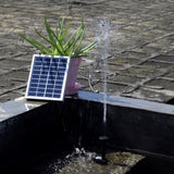 Solar-Powered Brushless Fountain Pump Fountain Pump Pet Clever