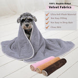Solid Soft Mat Blanket For Dog Dog Beds & Blankets Pet Clever