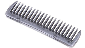 Stainless Steel Polished Horse Pony Grooming Comb Horse Brushes Pet Clever