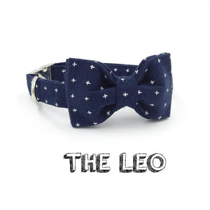 The Leo™ Fashion Pet Set of Collar & Leash Artist Collars & Harnesses Pet Clever