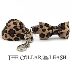 The Leopard™ Fashion Pet Set of Collar & Leash