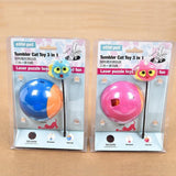 Three in One Tumbler Teaser Cat Toy Cat Toys Pet Clever