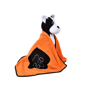 Ultra-Absorbent Microfiber Dog Drying Bath Towel Dog Care & Grooming Pet Clever