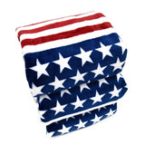 USA Star Striped Design Towel Dog Care & Grooming Pet Clever