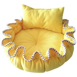 Vibrant Pet Bed with Pillow