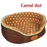 Warm & Soft Sofa Bed For Dogs Dog Beds & Blankets Pet Clever Camel Dot S