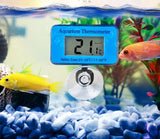 Waterproof LCD Water Temperature Meter Aquarium Thermometer Pet Clever