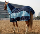Waterproof Warm Horse Blanket Horse Blanket Pet Clever Blue