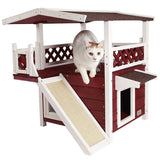 Weatherproof Cat Outdoor Shelter House Weatherproof Cat Outdoor Shelter House Pet Clever