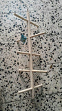 Wooden Ladders Climbing Parrot Toys Cage Birds & Parrots Pet Clever