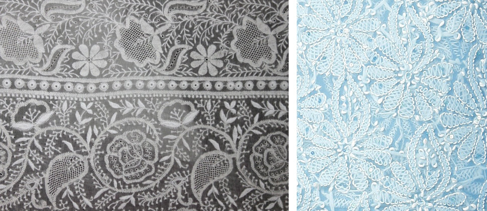 Chikankari Embroidery Work Designs And Patterns Loom Tree