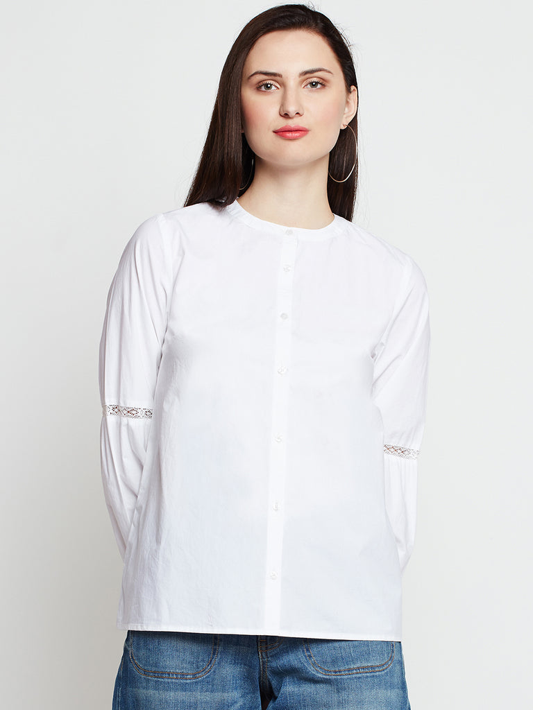 Lace Detail Shirt
