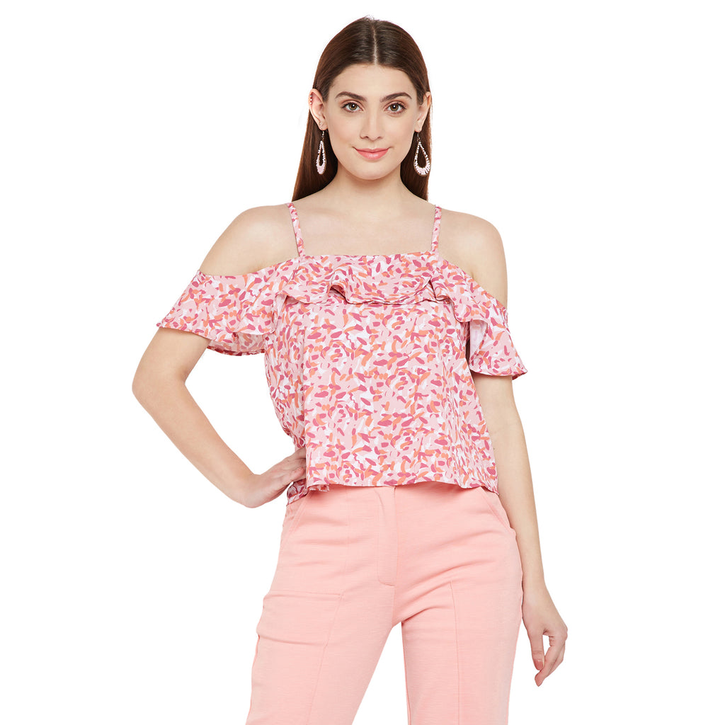 Summer Frill Slip Top