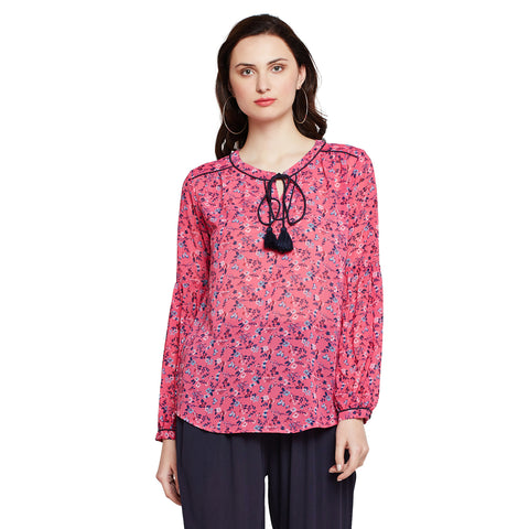 Flare For Fun Printed Tunic