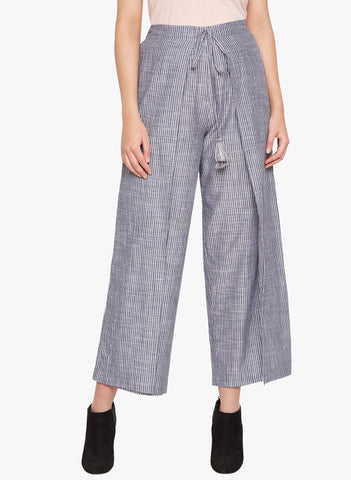 Eclipse Stripe Wrap Pants