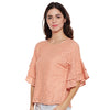 Allie Peach Schiffly Top