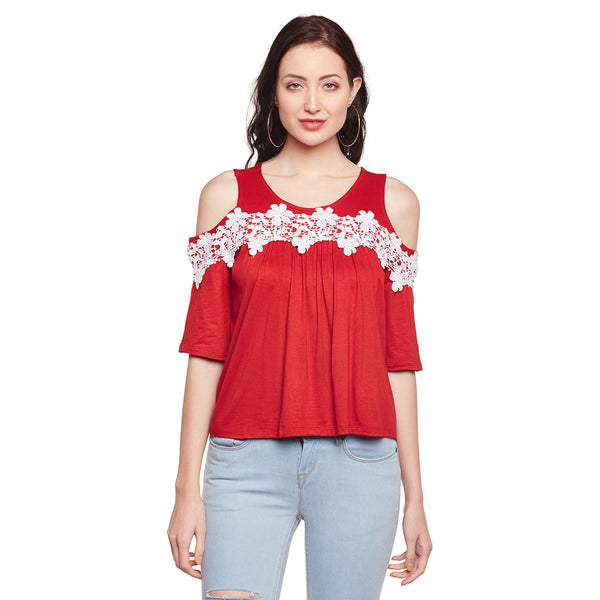 Adrienne Lace Top
