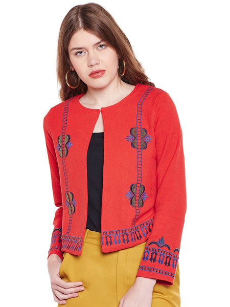 Loom Tree Embellished Jacket