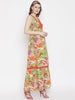 Tropical Print Maxi Sundress