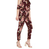 Floral Print Regular Pants